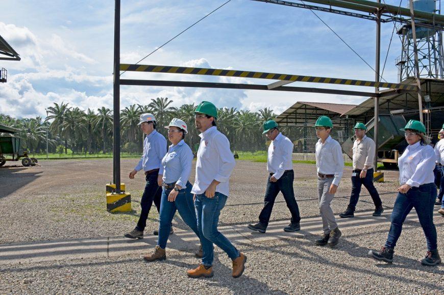 Reunión entre gremio palmero y el Sena se llevó a cabo en la plantación