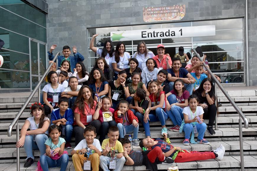 Vamos a Cine a Barrancabermeja con los ecoAmigos de Ecodiesel