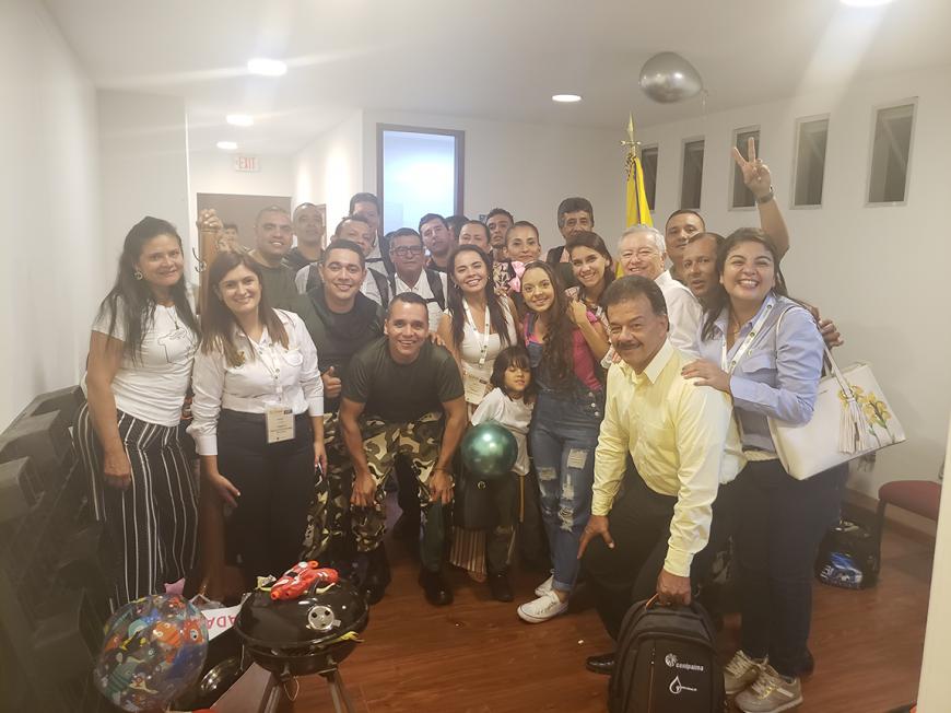 """""""La Hazaña de Monte Ardiente"""" cerró con broche de oro primer día de la Reunión Técnica Nacional"""