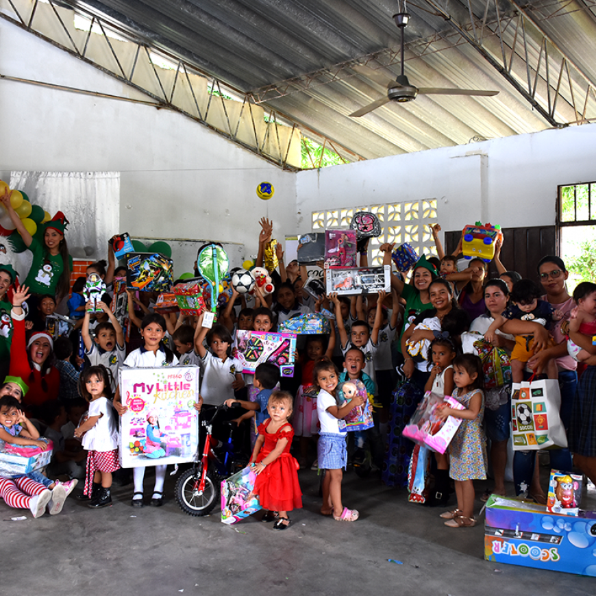 Navidad con Ecodiesel y la Fundación Bajo el Palmar