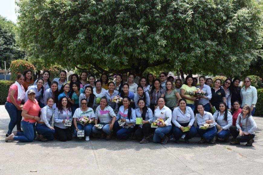 Palmas del Cesar conmemoró el Día de la Mujer