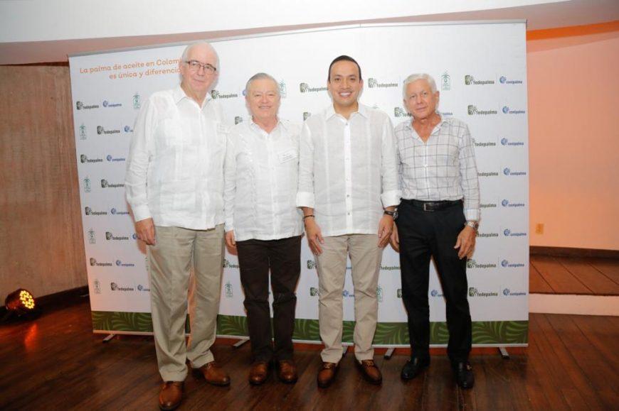 Palmas del Cesar participó en la Cena Palmera