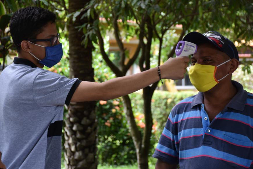 SST realiza búsqueda activa de trabajadores sintomáticos
