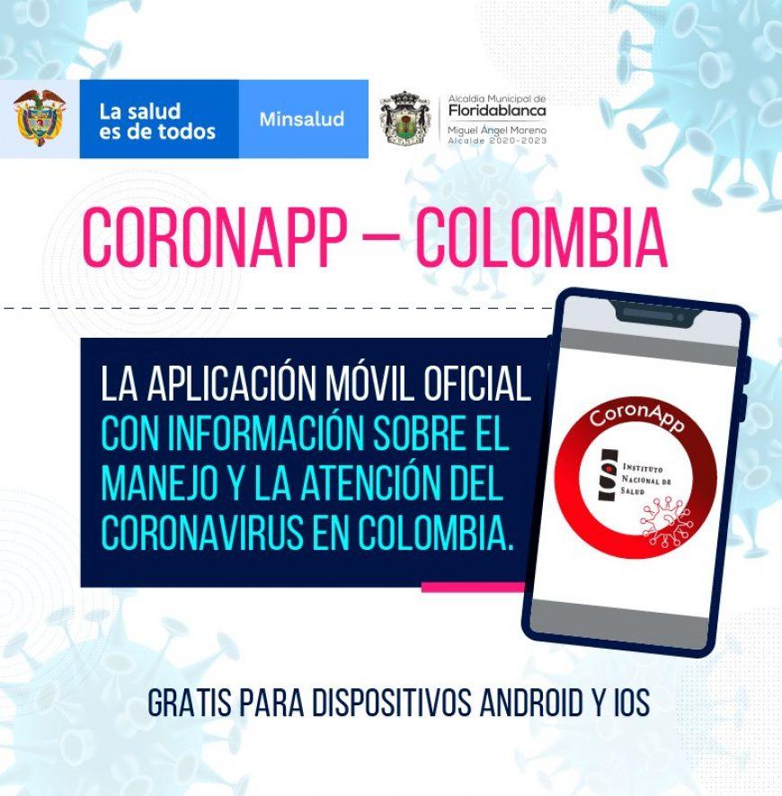 Palmas del Cesar te invita a descargar CoronApp Colombia