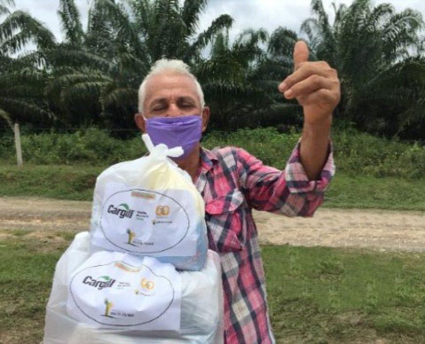Fundación Bajo el Palmar continúa brindando ayudas humanitarias en las zonas de influencia de Palmas del Cesar