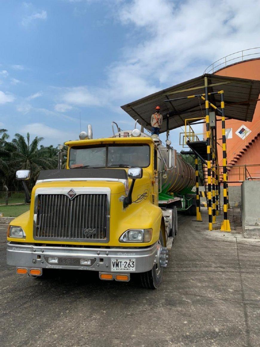 Primer despacho de aceite de palma certificado ISCC