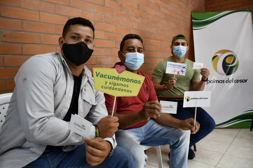 Con éxito Palmas del Cesar realizó la segunda jornada de vacunación